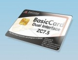 ZC7.5 dual interface smart card