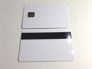 NXP Java smart card with mag stripe