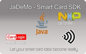 NFC-2 2k DESFire NFC card for Smart Card SDK